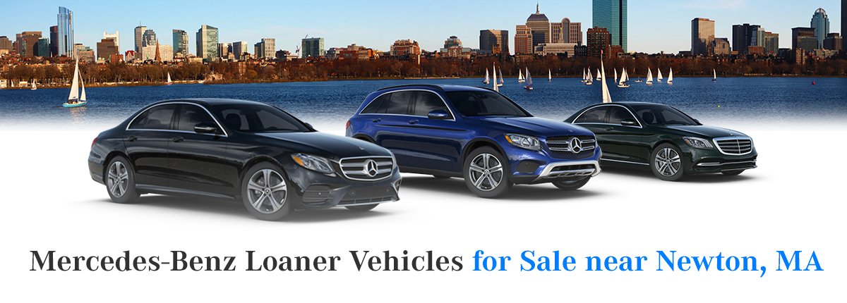 Mercedes-Benz Loaner Vehicles for Sale near Newton, MA