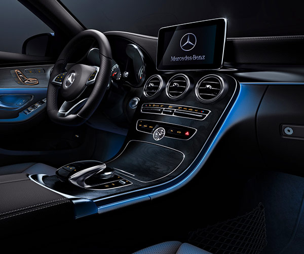 The New 2018 Mercedes-Benz C 300  Interior