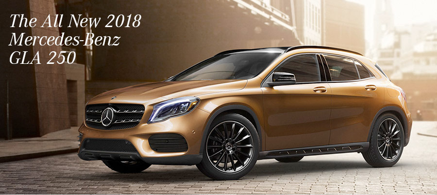 The All New 2018 Mercedes-Benz GLA 250