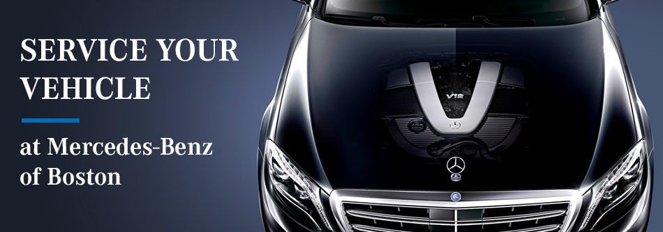 Service Your Vehicle At Mercedes Benz Of Boston