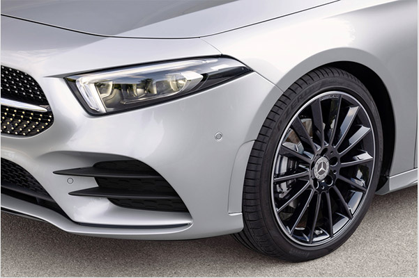 Safety Features in the 2019 Mercedes-Benz A-Class Sedan