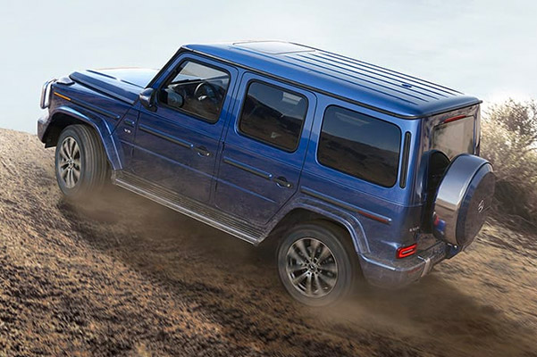 2019 Mercedes-Benz G-Class Performance Highlights