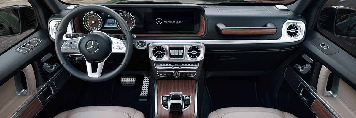 New 2019 Mercedes-Benz G-Class Technologies