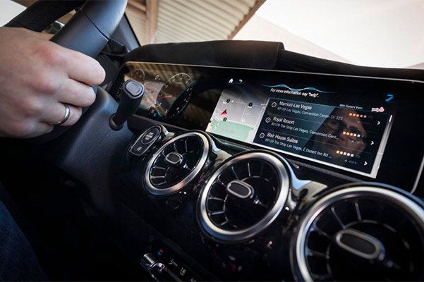 Mercedes-Benz User Experience (MBUX) Details