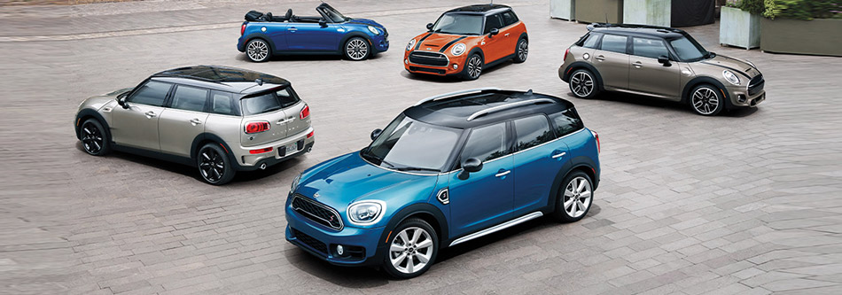 Mini car line up