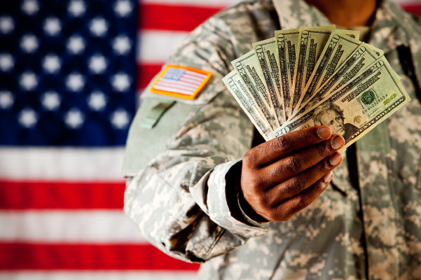 Military money discounts