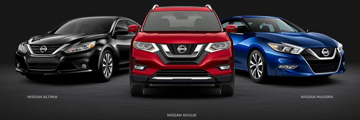 Nissan vehicle line up