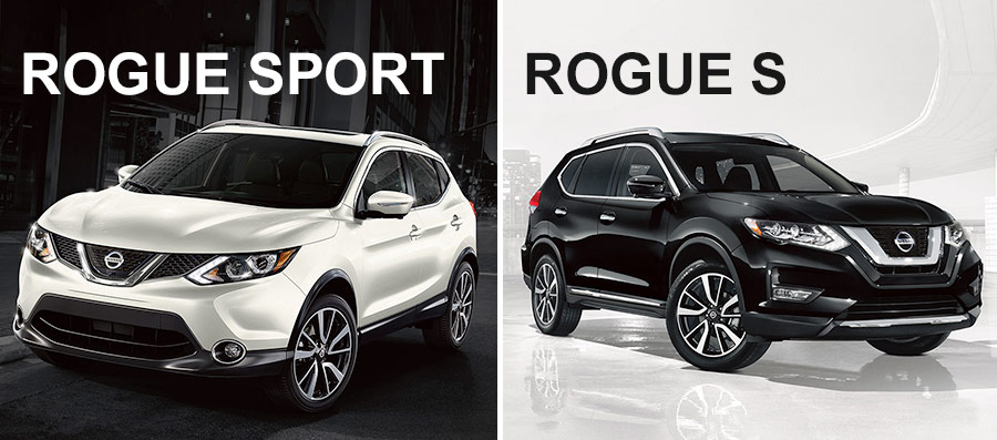 2018 New Rogue and Rogue Sport