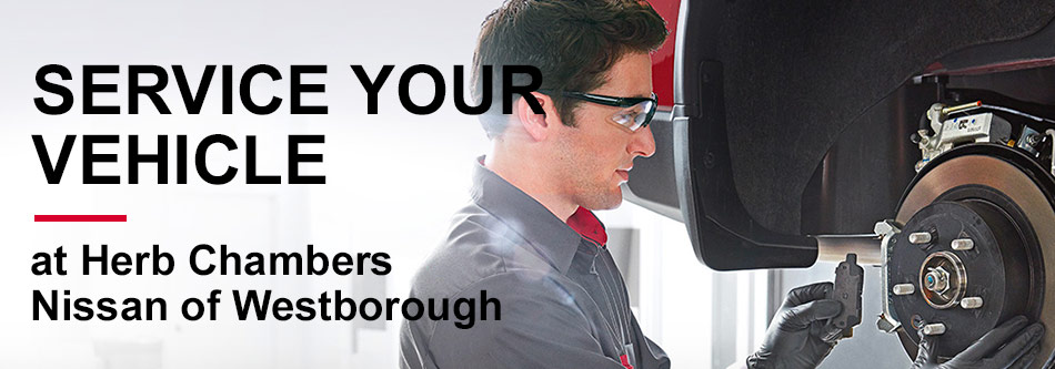 Service your Vehicle at Nissan of Westborough