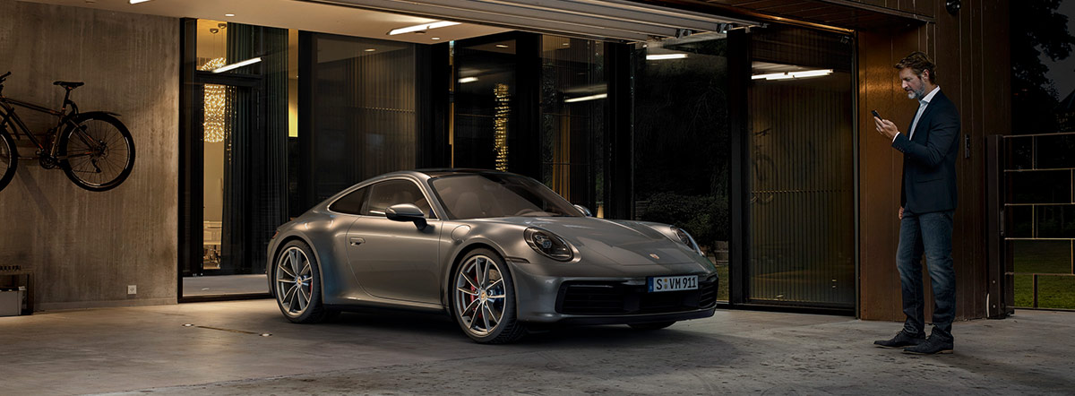 Porsche Connect header