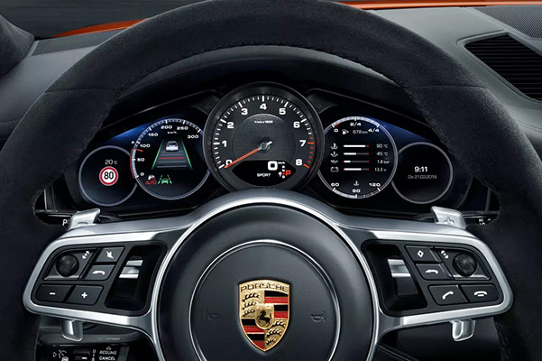 2020 Porsche Cayenne Interior & Technology