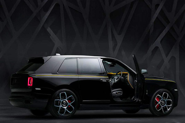 2020 Rolls-Royce Black Badge Cullinan Specs & Features