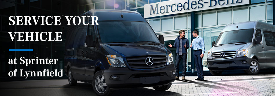 Service your Vehicle at Sprinter of Lynnfield
