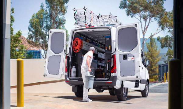 Mercedes-Benz Sprinter cargo space