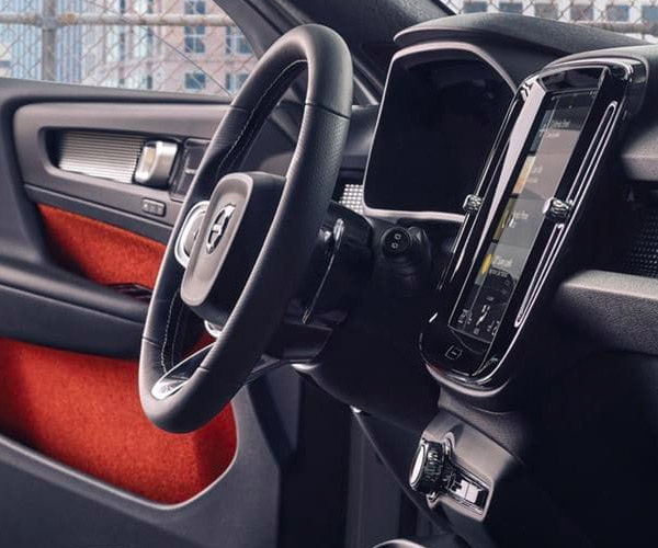The New 2019 Volvo XC40 Interior